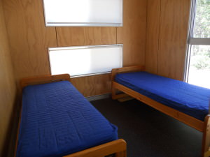 Cabin single beds