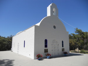Church front side
